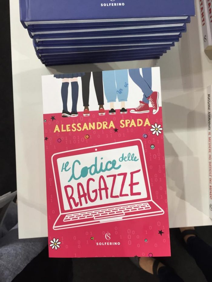 copertina del libro Il codice delle ragazze di Alessandra Spada #ilcodicedelleragazze #crac #alessandraspada